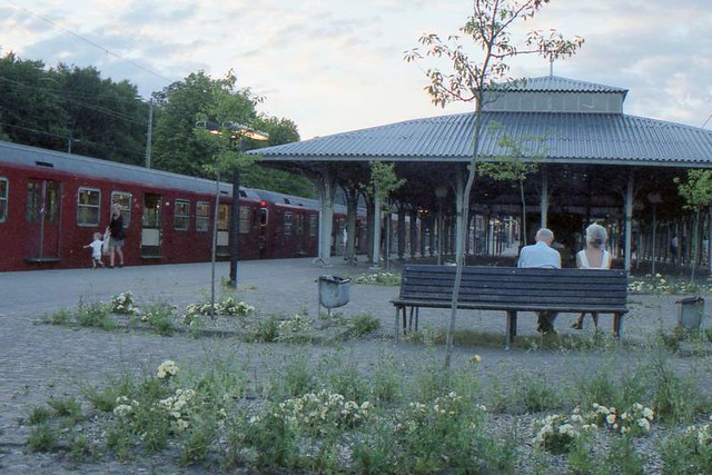 Klampenborg station, June 1999