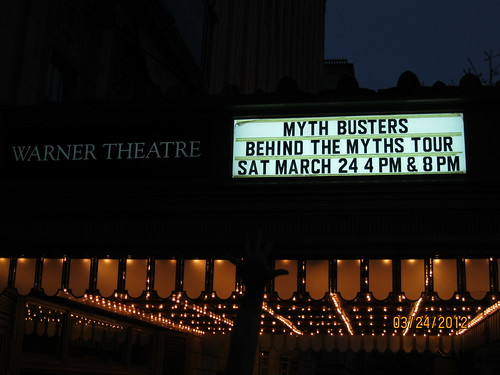 3/24/12: Behind the Myths Tour