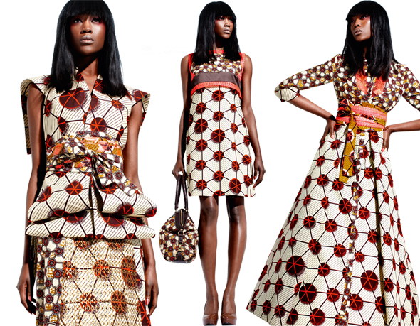 Behold the hidden secrets of the new Vlisco fabric collection named Silent Empire