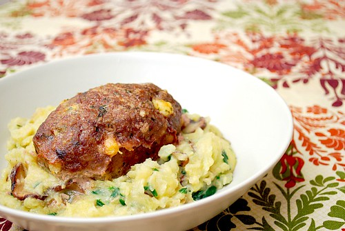 Blue Cheese & Caramelized Onion Meatloaf