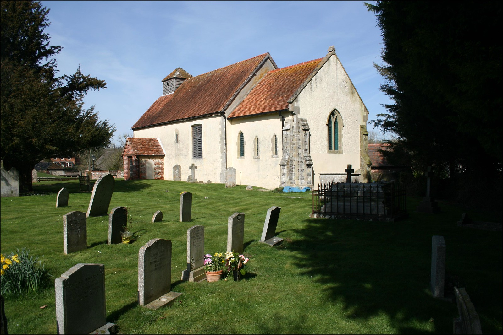 St Marys Church, Tufton