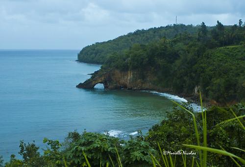 seascape stlucia caribbeans