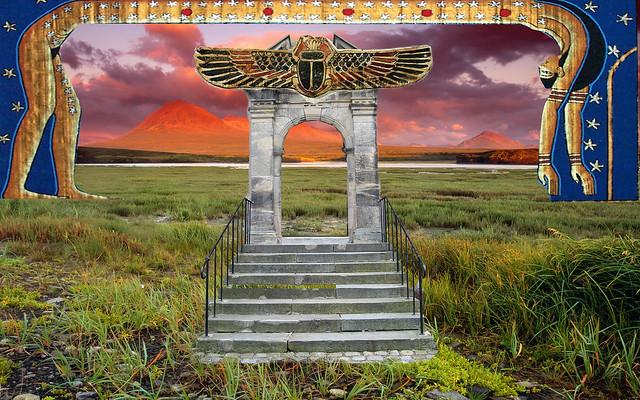 Portal to the sky goddess