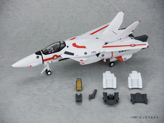 1/60 Yamato VF-1J Valkyrie Hikaru Ichijo with Optional Parts