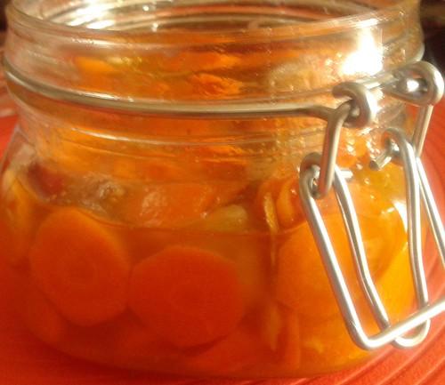 conserva de cenoura
