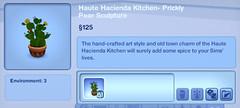 Haute Hacienda Kitchen - Prickly Pear Sculpture