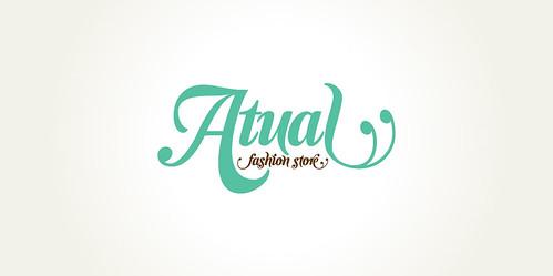 Logo - Atual by chambe.com.br