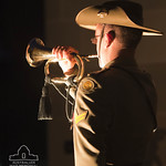 Bugler at ANZAC Day Dawn Service, 2012