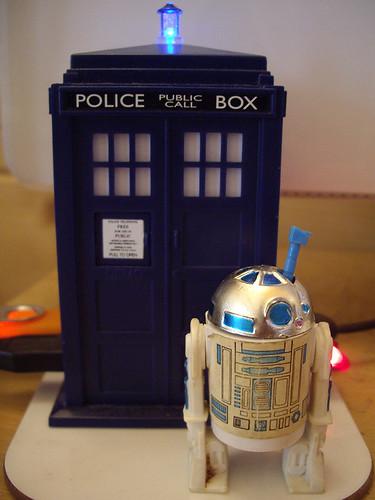 TARDIS & R2D2