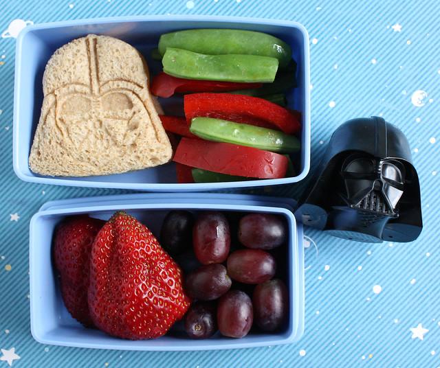 Preschool Star Wars Day Bento (#265)