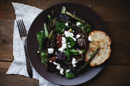 beet goat cheese salad copy
