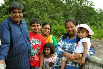 Family at Paanch Garg