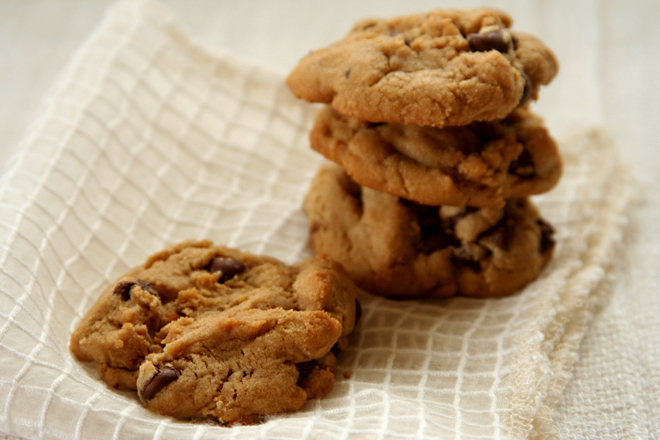 whole wheat chocolate chip cookies 3
