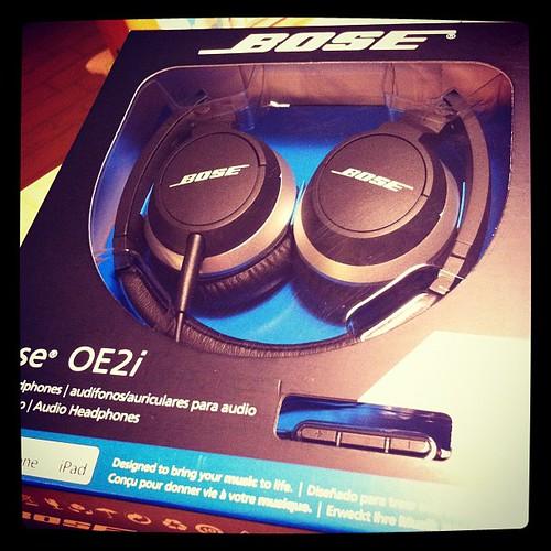 Bose OE2iってオンイヤーヘッドホン買ってみた