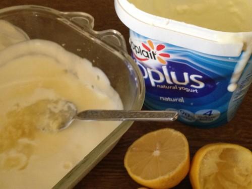 Yogurt dip