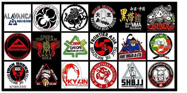 BJJ IN CHINA(logos)