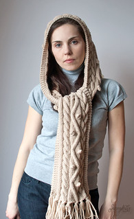 Hooded scarf Башлык