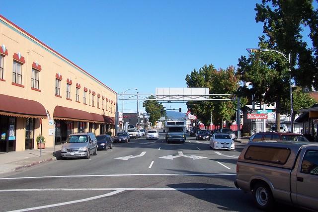 Beautiful downtown redding flickr photo sharing for Shasta motors redding california