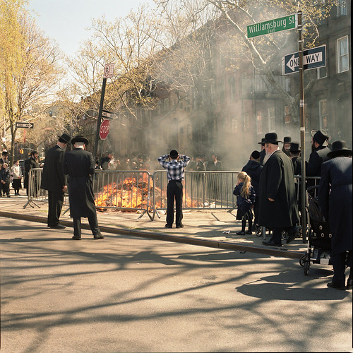 burning chametz, passover 2012