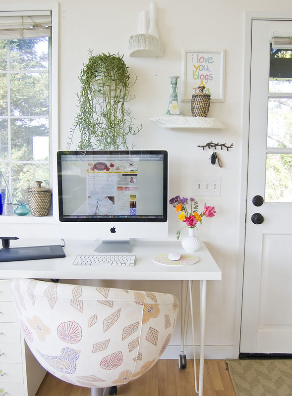 blogging station! :)