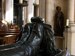 soldier's boots and St Dunstan