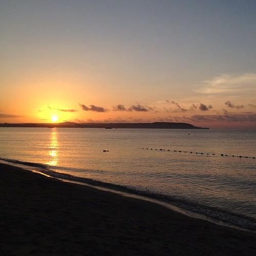 beach sunrise square squareformat normal laiya unedited iphoneography instagramapp uploaded:by=instagram wanderinggene foursquare:venue=4d9cc64c7f9e4eb939fb9bfc