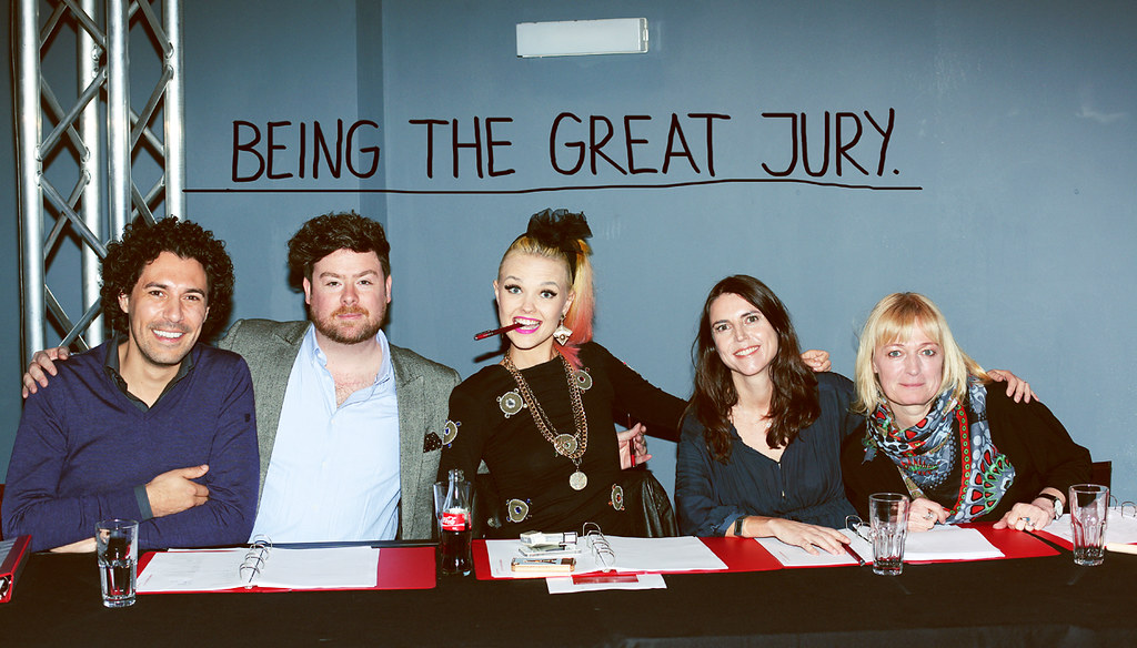 being the great jury at triumph - strange ambition - bonnie strange