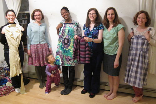 Brooklyn BurdaStyle Sewing Club!