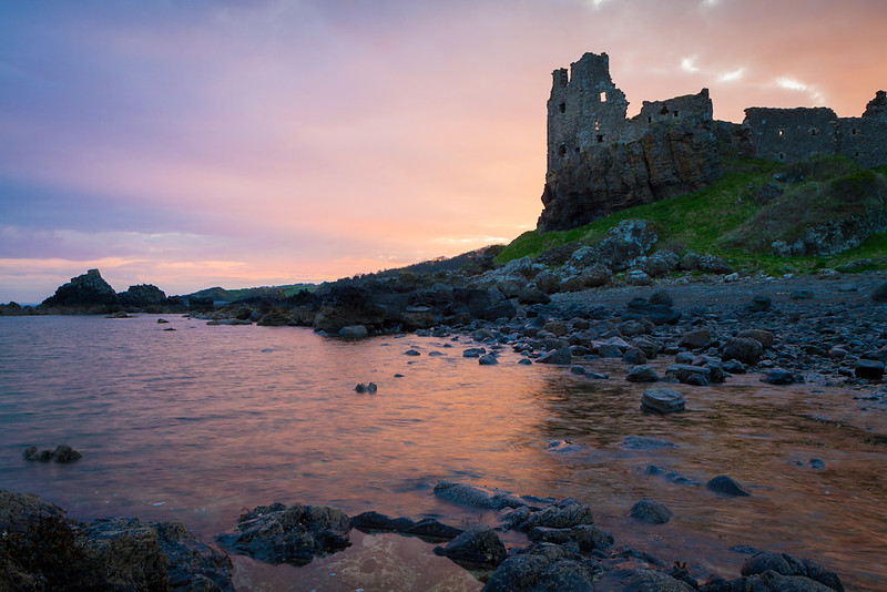 Dunure at dawn (IMG_9444)