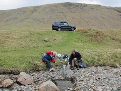 Lunchtime at Honister