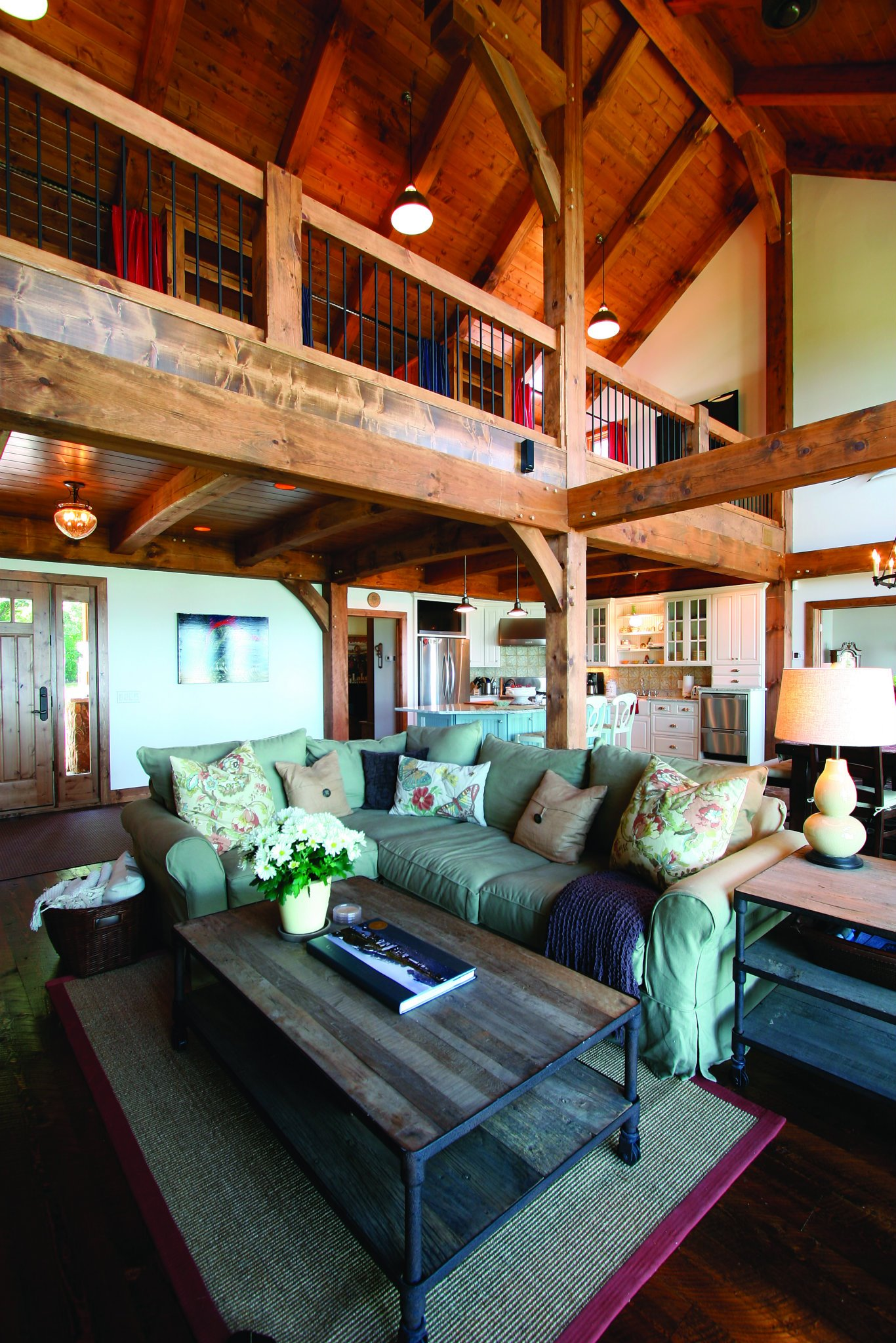 Interior Timber Frame Homes Photo Gallery Blue Ox Timber