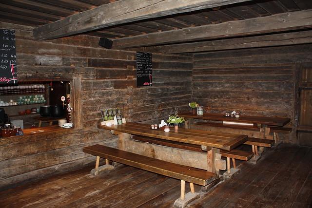 Inside the bar - Estonian Open Air Museum