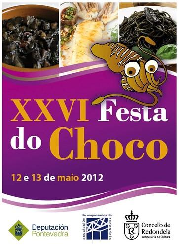 Redondela 2012 - Festa do Choco - cartel
