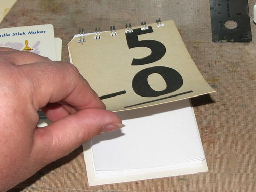 Vintage Flash Cards - Note Pad 008