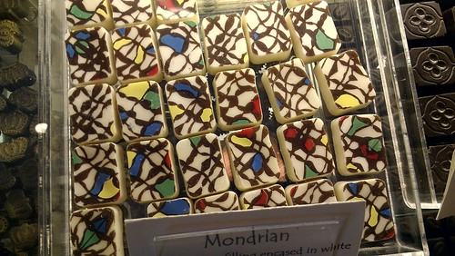 Mondrian chocolates