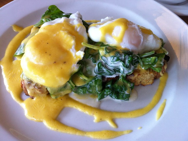 Eggs Florentine at Fenns Quay