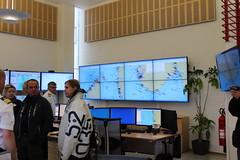 Visit to Vessel Traffic Services (VTS) center in Vadsø