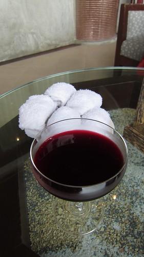 Kandaburi Resort welcome drink サムイ島