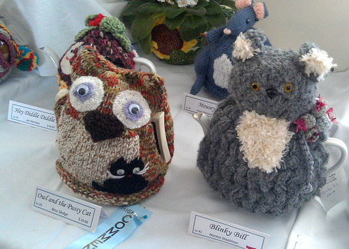 Tea Cozy Exhibition 2012 - Owl