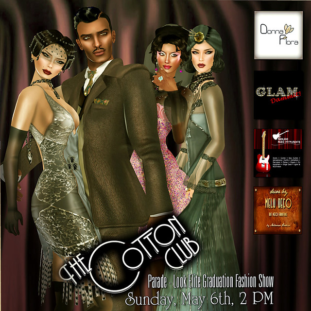 LookElite Graduation Fashion Show - The Cotton Club Parade 001