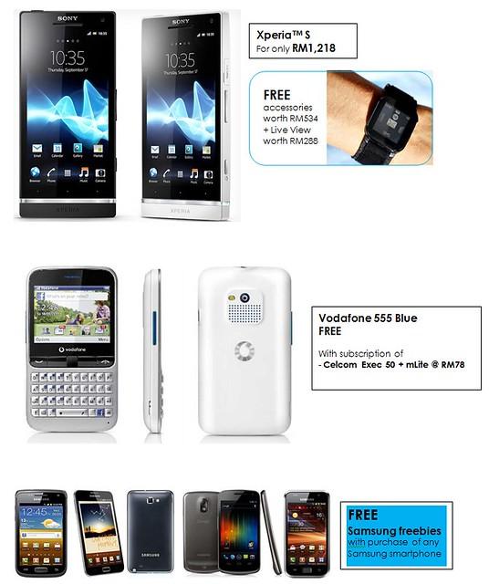 I LOVE TABLET FAIR 2012 @ GoMobile 2012, KLCC! Xperia S, Vodafone 555 Blue