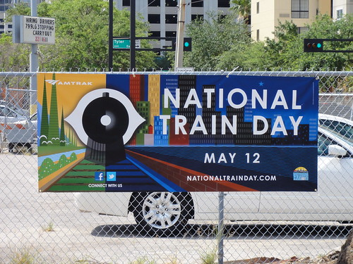 Nation Train Day Banner