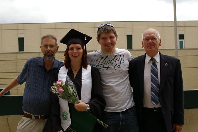 Rachelle's UNT Graduation (May 2012)