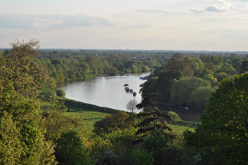 Thames view from Richmond Hill
