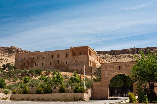 Monasterio de Deyrun Zafaran en Mardin