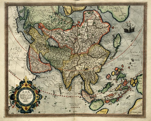 004- Asia-Atlas sive Cosmographicae meditationes de fabrica mvndi et fabricati figvra 1595- Mercator- library of Congress