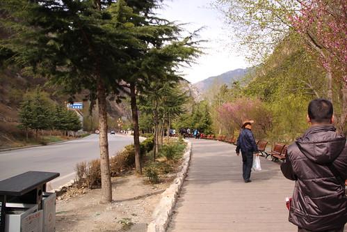 九寨溝国立公園の周辺地域