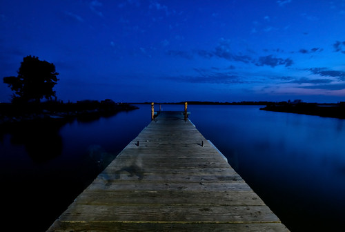 Night Photography at the Lake