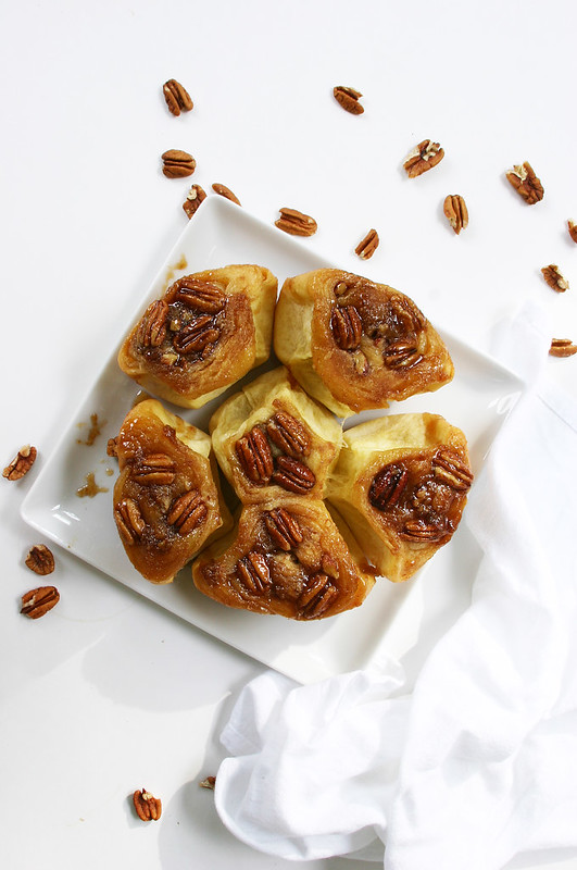 sticky buns upside down