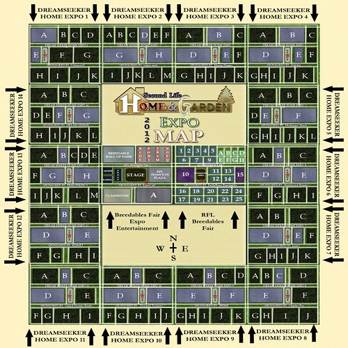 2012 Expo Fair Map Marked